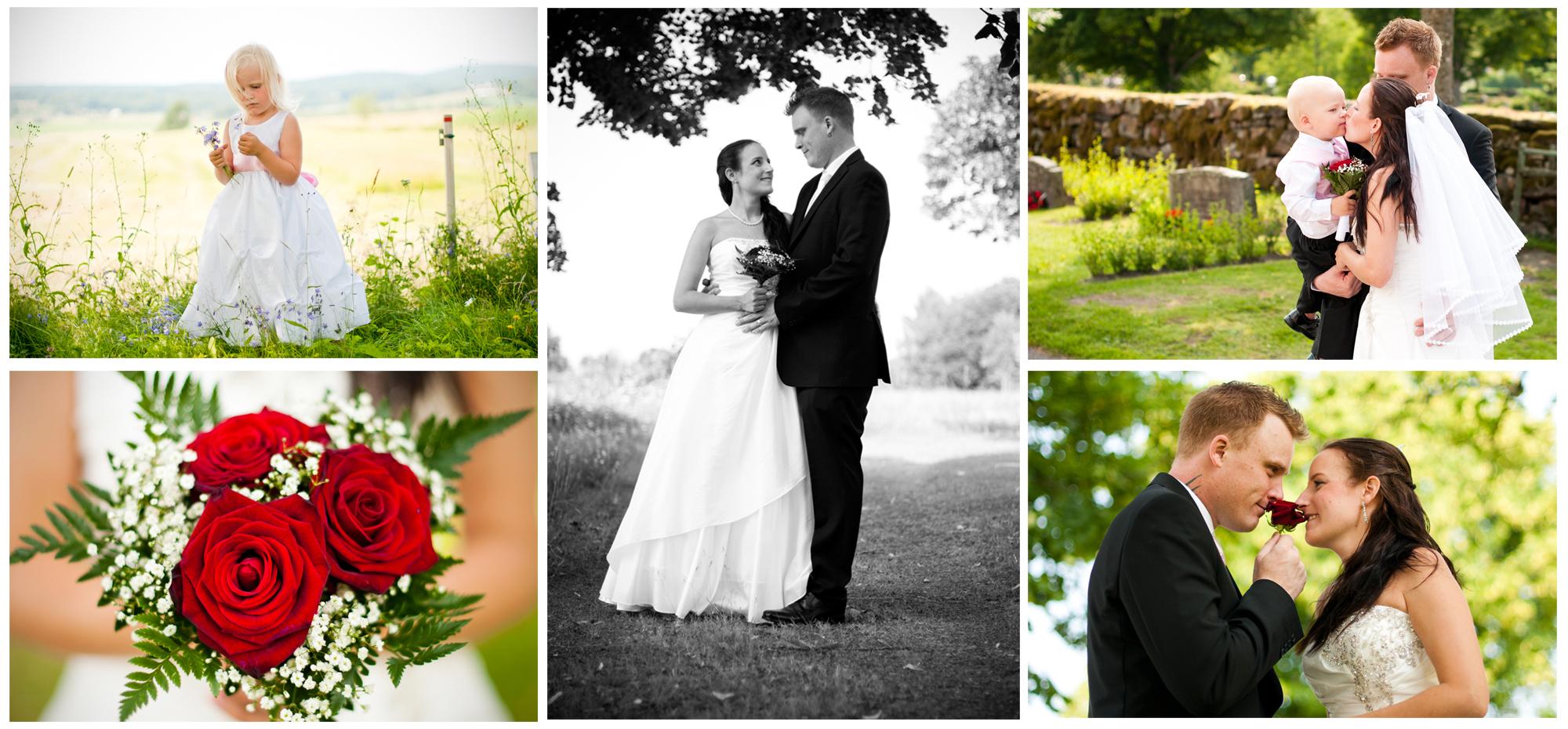 Bröllopsfotograferingar under sommaren